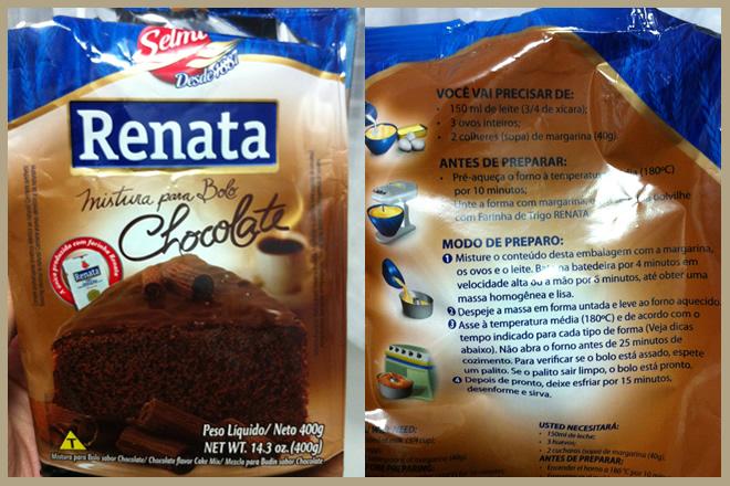 Bolo De Caixinha De Chocolate Renata Bolo De Caixinha